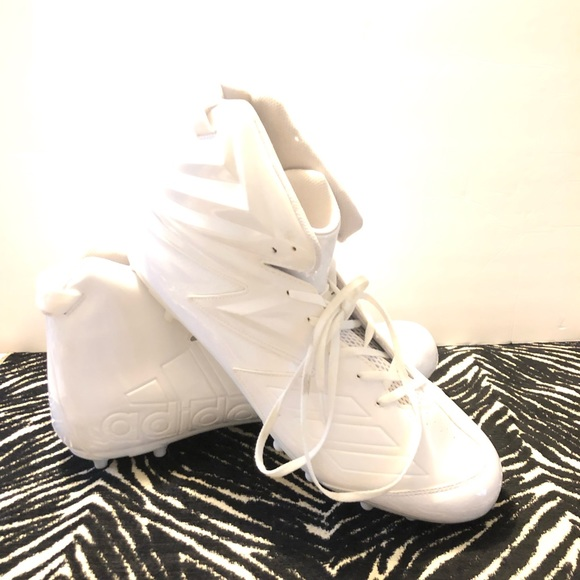 adidas Other - NWOT Adidas Freak Football White Cleats Size 18